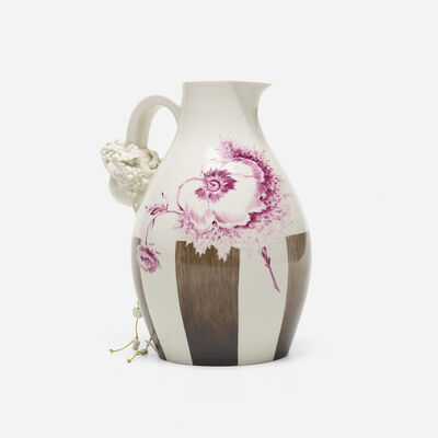 Nymphenburg Porcelain Manufactory, 'Autumn wine jug', 2007