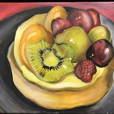 Rebecca Vincenzi, 'Tarte aux Fruits II', 2018