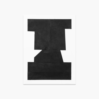 Michael Wall, 'Black on White Paper I ', 2018