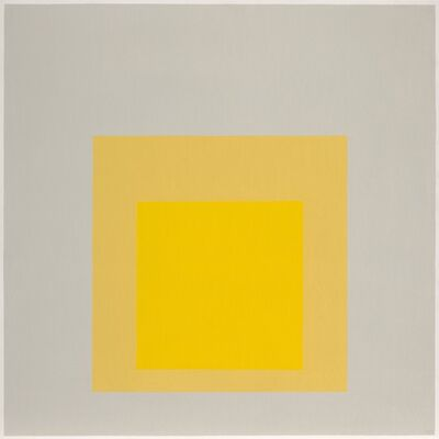 Josef Albers, 'Homage to the Square: Dense-Soft', 1969