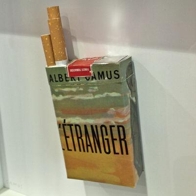 Peter Wüthrich, 'Literary Smoke - L'Etranger', 2015