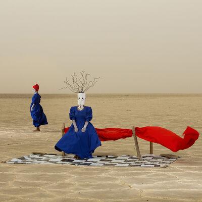 Aida Muluneh, 'The Sorrows we bear', 2018