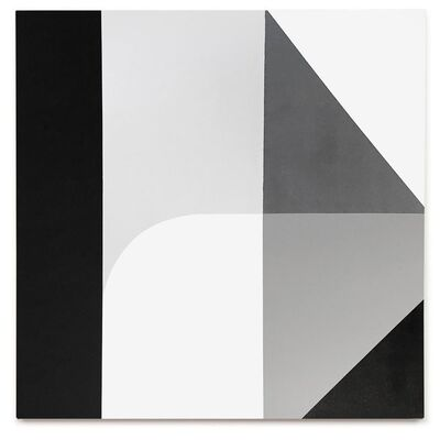 Chad Kouri, 'A Sliding Scale from Black to White (Five Values) #2', 2016