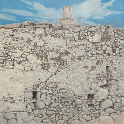 George Tzannes, 'Old Wall in Aroniadika', 1988