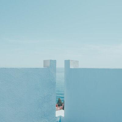 Ludwig Favre, 'Blue Wall', 2019