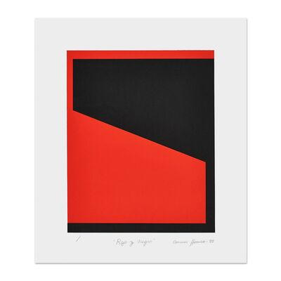 Carmen Herrera, 'Rojo y Negro', 1993