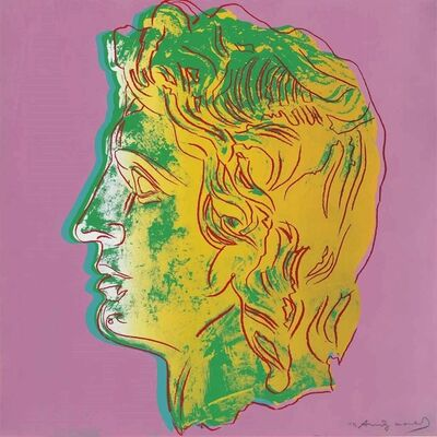 Andy Warhol, 'Alexander the Great : one plate', 1982