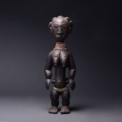 Unknown Asante, 'Asante Wooden Doll', 20th Century AD