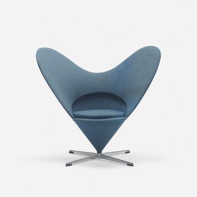 Verner Panton, 'Heart Cone chair', 1958