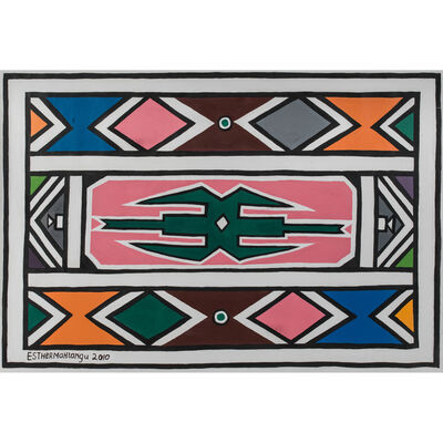 Esther Mahlangu, 'Untitled', 2010