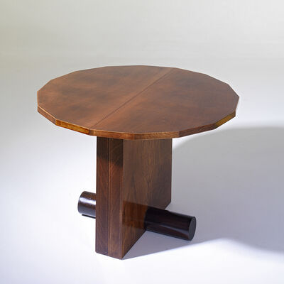 André Sornay, 'Dining table with « log » base.', ca. 1936