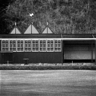 David Goldblatt, 'Bowling Green and clubhouse, Crown Mines, Johannesburg (2_5460)', 1969