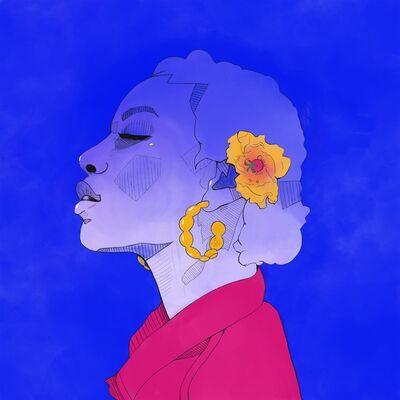 Laura Smethers, 'Dominique's Blue Sun', 2019