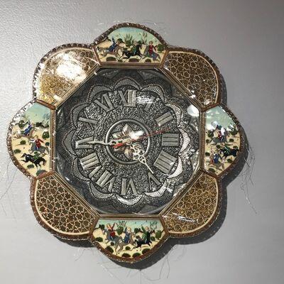 """Nassem Navab, 'Persian Clock from """"Refuge"""" installation', 2019"""