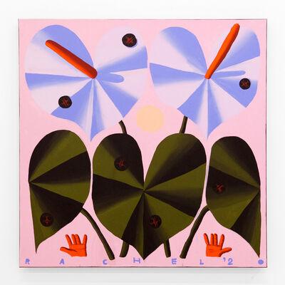 "Rachel Hayden, '""Two Big Anthuriums""', 2020"