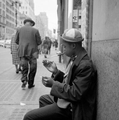 Vivian Maier, 'VM1955W02769 - New York, NY, Boy Smoking', Printed 2017