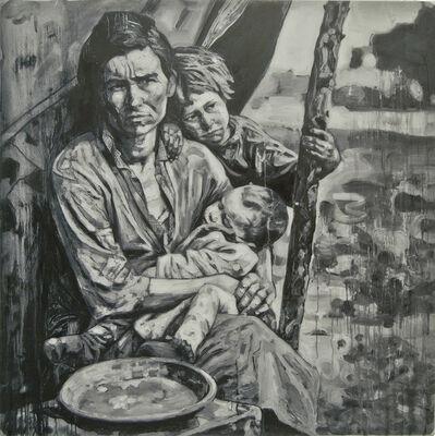 Hung Liu 刘虹, 'Migrant Mother 1/3'