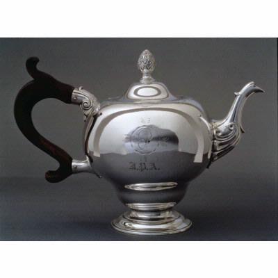 Elias Pelletreau, 'Teapot', ca. 1770