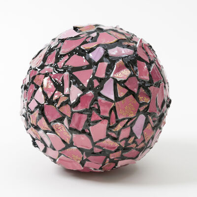 Sandra Shashou, 'Balancing Act-Pink Sphere', 2019