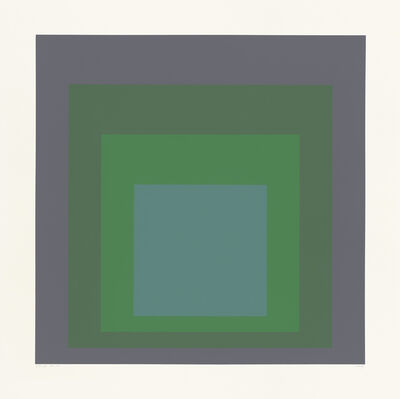 "Josef Albers, 'SP IX (from the portfolio ""SP"")', 1967"