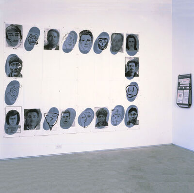 Eugenio Dittborn, 'The 21st History of the Human Face (Colophonia)  ', 1998
