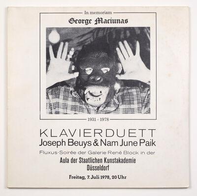 Joseph Beuys, 'In memoriam George Maciunas', 1982