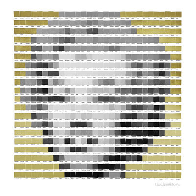 Nick Smith, 'Gold Leaf Marilyn Monroe', 2015