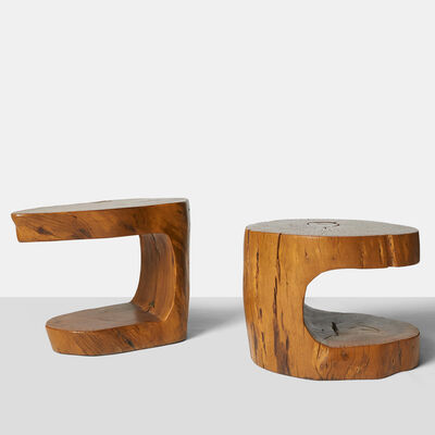 Hugo França, 'Pair of Cantilever Side Tables', 1990-1999
