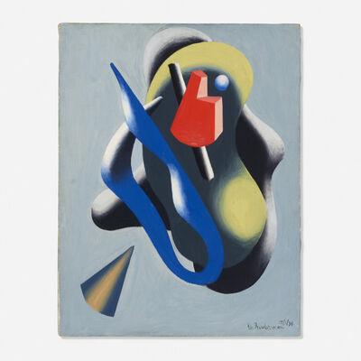 Charles Biederman, 'New York 1/36', 1936