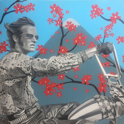 Clifford Land, 'Easy rider in Japan', 2018