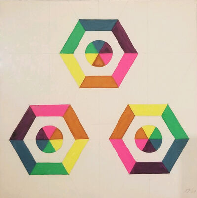Judy Chicago, 'Optical Shapes #5', 1969