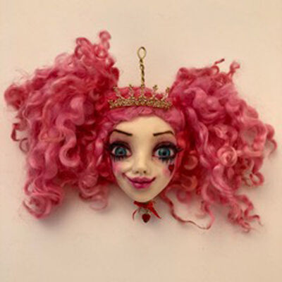 Sheri DeBow, 'Bubblegum Smirk'