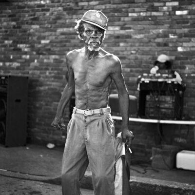 Brandon Thibodeaux, 'James 'Dance Machine' Watson Jr., Alligator,Mississippi', 2009