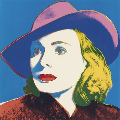 Andy Warhol, 'Ingrid Bergman, with Hat (FS II.315)', 1983