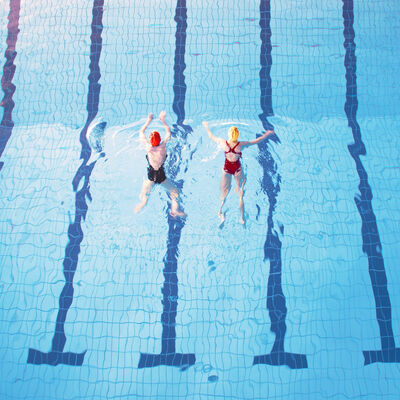 Maria Svarbova, 'Swimm 2', 2016