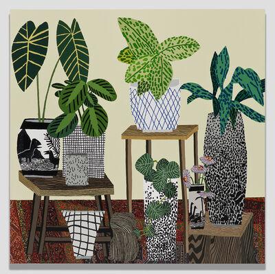 Jonas Wood, 'Red Rug Still Life', 2015