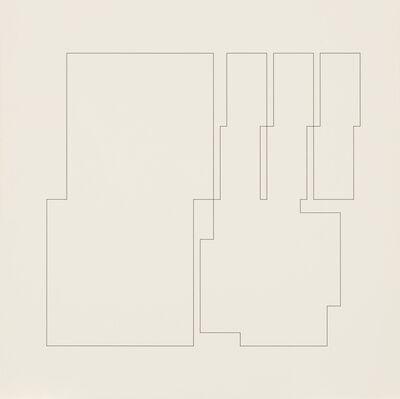 Attila Kovács, 'koordination lp3-a1-1970-1973', 1985