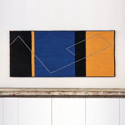 Gudrun Pagter, 'Yellow, Blue, and Black'