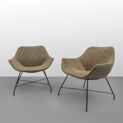 Augusto Bozzi, 'Two 'Lord' armchairs', circa 1959