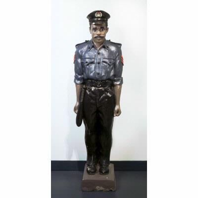 Sunday Jack Akpan, 'Untitled (Portait of a Nigerian Policeman)', 1991