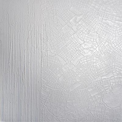 Sebastien Mehal, 'Downtown 2018 - White monochrome', 2018