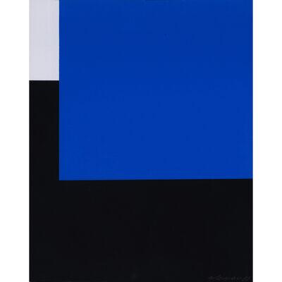 Aurelie Nemours, 'Espace bleu', 1959