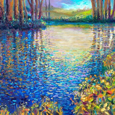 Iris Scott, 'Blue Lagoon Pond', 2020