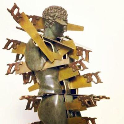 Arman, 'Cheveux en Quatre', 1995