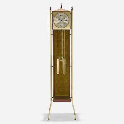 George Nelson & Associates, 'Grandfather clock, model 2256', 1958