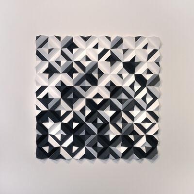 Matt Shlian, 'Ara 446 - Some Caterpillars Stay Caterpillars - Black and White', 2020
