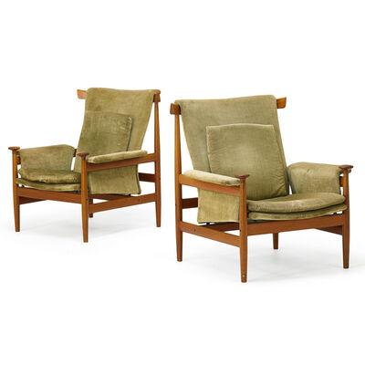 Finn Juhl, 'Pair Of Bwana Chairs, Denmark', 1960s