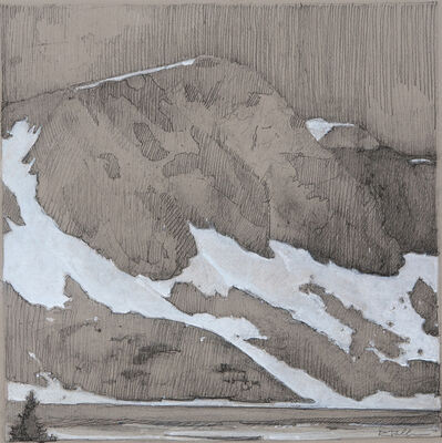Robert Pollien, 'Lake Marie, Centennial'