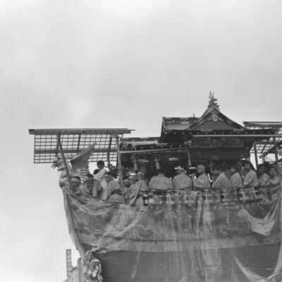 Toshio Enomoto, '059-Funeboko float, Gion Festival', 1994