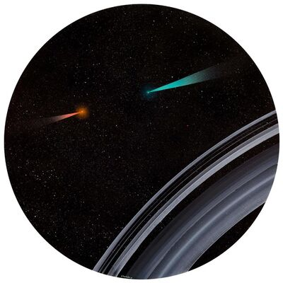 Anton Totibadze, 'Saturn Rings II', 2017